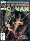 Savage Sword of Conan #204 Comic Books - Covers, Scans, Photos  in Savage Sword of Conan Comic Books - Covers, Scans, Gallery