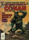 Savage Sword of Conan #84 comic books - cover scans photos Savage Sword of Conan #84 comic books - covers, picture gallery