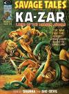 Savage Tales #8 Comic Books - Covers, Scans, Photos  in Savage Tales Comic Books - Covers, Scans, Gallery