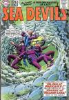 Sea Devils #4 comic books - cover scans photos Sea Devils #4 comic books - covers, picture gallery