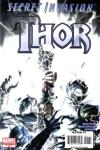 Secret Invasion: Thor #1 comic books - cover scans photos Secret Invasion: Thor #1 comic books - covers, picture gallery