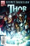 Secret Invasion: Thor #3 comic books - cover scans photos Secret Invasion: Thor #3 comic books - covers, picture gallery