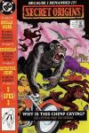 Secret Origins #40 comic books - cover scans photos Secret Origins #40 comic books - covers, picture gallery
