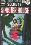 Secrets of Sinister House #15 comic books for sale