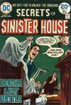 Secrets of Sinister House #17 comic books for sale