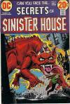 Secrets of Sinister House #8 comic books - cover scans photos Secrets of Sinister House #8 comic books - covers, picture gallery