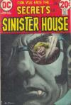 Secrets of Sinister House #9 comic books - cover scans photos Secrets of Sinister House #9 comic books - covers, picture gallery