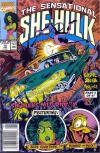 Sensational She-Hulk #16 Comic Books - Covers, Scans, Photos  in Sensational She-Hulk Comic Books - Covers, Scans, Gallery