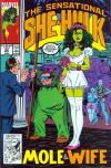 Sensational She-Hulk #33 comic books - cover scans photos Sensational She-Hulk #33 comic books - covers, picture gallery