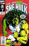 Sensational She-Hulk #55 comic books - cover scans photos Sensational She-Hulk #55 comic books - covers, picture gallery