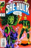 Sensational She-Hulk #58 comic books - cover scans photos Sensational She-Hulk #58 comic books - covers, picture gallery