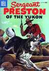 Sergeant Preston of the Yukon #18 Comic Books - Covers, Scans, Photos  in Sergeant Preston of the Yukon Comic Books - Covers, Scans, Gallery