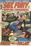 Sgt. Fury #102 comic books - cover scans photos Sgt. Fury #102 comic books - covers, picture gallery
