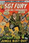 Sgt. Fury #114 comic books - cover scans photos Sgt. Fury #114 comic books - covers, picture gallery