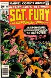 Sgt. Fury #140 comic books - cover scans photos Sgt. Fury #140 comic books - covers, picture gallery