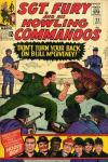 Sgt. Fury #22 cheap bargain discounted comic books Sgt. Fury #22 comic books