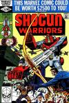 Shogun Warriors #20 comic books for sale