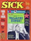 Sick #26 comic books - cover scans photos Sick #26 comic books - covers, picture gallery