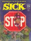 Sick #38 comic books - cover scans photos Sick #38 comic books - covers, picture gallery