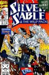 Silver Sable and the Wild Pack #13 comic books - cover scans photos Silver Sable and the Wild Pack #13 comic books - covers, picture gallery