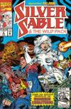 Silver Sable and the Wild Pack #8 comic books - cover scans photos Silver Sable and the Wild Pack #8 comic books - covers, picture gallery