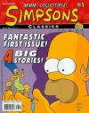 Simpsons Classics comic books