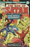 Son of Satan #3 comic books - cover scans photos Son of Satan #3 comic books - covers, picture gallery