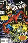 Spectacular Spider-Man #214 comic books - cover scans photos Spectacular Spider-Man #214 comic books - covers, picture gallery