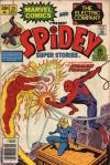 Spidey Super Stories #20 comic books - cover scans photos Spidey Super Stories #20 comic books - covers, picture gallery