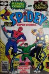 Spidey Super Stories #41 comic books - cover scans photos Spidey Super Stories #41 comic books - covers, picture gallery