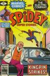 Spidey Super Stories #42 comic books - cover scans photos Spidey Super Stories #42 comic books - covers, picture gallery