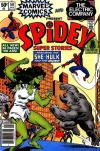 Spidey Super Stories #50 comic books - cover scans photos Spidey Super Stories #50 comic books - covers, picture gallery
