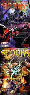 Spooks #3 comic books - cover scans photos Spooks #3 comic books - covers, picture gallery