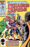 Squadron Supreme #11 comic books for sale