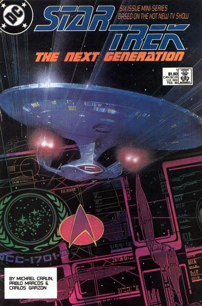 Star Trek: The Next Generation comic books