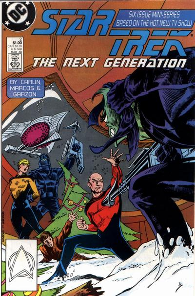 Star Trek: The Next Generation #2 comic books for sale