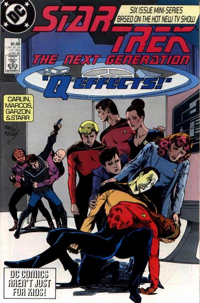 Star Trek: The Next Generation #5 comic books for sale