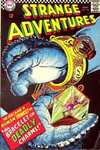Strange Adventures #194 comic books - cover scans photos Strange Adventures #194 comic books - covers, picture gallery