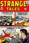 Strange Tales #102 comic books - cover scans photos Strange Tales #102 comic books - covers, picture gallery