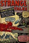 Strange Tales #105 comic books - cover scans photos Strange Tales #105 comic books - covers, picture gallery