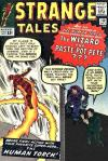 Strange Tales #110 comic books - cover scans photos Strange Tales #110 comic books - covers, picture gallery