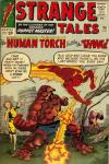 Strange Tales #116 comic books - cover scans photos Strange Tales #116 comic books - covers, picture gallery