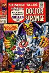 Strange Tales #161 comic books - cover scans photos Strange Tales #161 comic books - covers, picture gallery