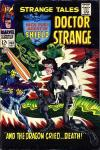 Strange Tales #163 comic books - cover scans photos Strange Tales #163 comic books - covers, picture gallery