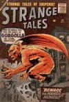 Strange Tales #74 comic books - cover scans photos Strange Tales #74 comic books - covers, picture gallery