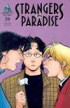 Strangers in Paradise #20 comic books - cover scans photos Strangers in Paradise #20 comic books - covers, picture gallery