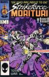 Strikeforce: Morituri comic books