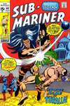 Sub-Mariner #40 comic books - cover scans photos Sub-Mariner #40 comic books - covers, picture gallery