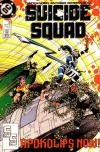Suicide Squad #33 comic books - cover scans photos Suicide Squad #33 comic books - covers, picture gallery