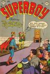 Superboy #32 comic books - cover scans photos Superboy #32 comic books - covers, picture gallery